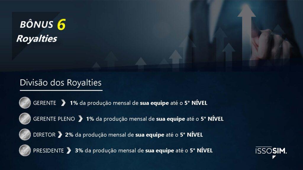Bônus 6 - royalties