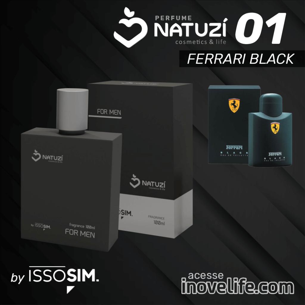 natuzí 01 - Ferrari Black