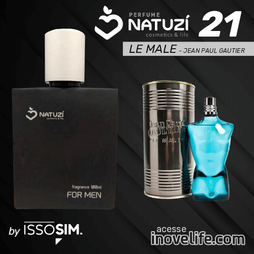 Perfumes ISSOSIM Natuzí - Masculinos 80