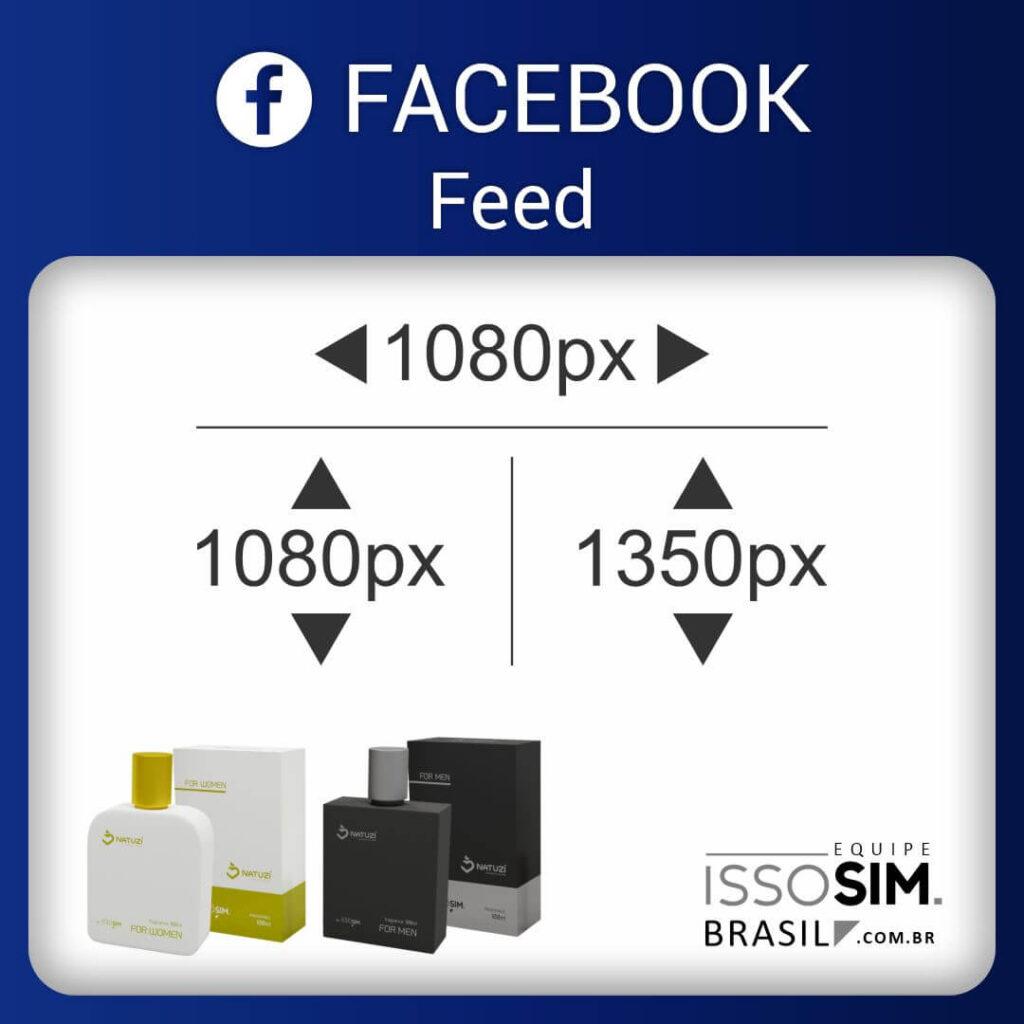 Feed Facebook Perfume Vidro