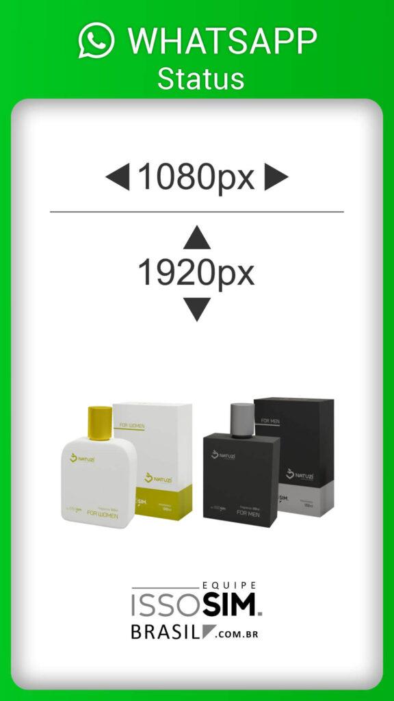 Status Whatsapp Perfume Vidro